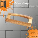 Maniglia di portello unica della serratura in zinco, serratura della maniglia di portello per la finestra di scivolamento