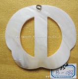 Collana Pendant del tasto delle coperture bianche degli accessori dei monili di modo DIY di adattamento