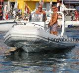 Barco inflável Rhib do barco do reforço de Liya 5.8m Hypalon