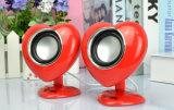Altoparlanti portatili Heart-Shaped svegli per i biglietti di S. Valentino