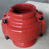 Отремонтируйте струбцины для соединения соединения гальванизированной трубы Dn80