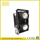 옥외 IP65 350W 2 눈 곁눈 가리개 LED 옥수수 속 점화를 위한 매트릭스 점화