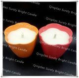 Mechas gruesas de estaño al aire libre con velas perfumadas de Citronella