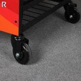 Fußboden-stehende Schmiermittel-Bildschirmanzeige-Zahnstange für 2 Räder
