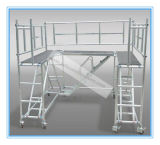 Échafaudage en aluminium ciblé sécurisé pour décoration