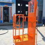 Mastros aéreos triplicar-se da máquina desbastadora conservada em estoque (móveis) para 3.5m