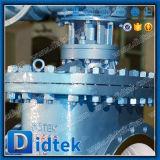 Клапан-бабочка входа триппеля Didtek Dn800 смещенная верхняя