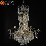 Indicatore luminoso a cristallo del lampadario a bracci di grande di vendita progetto caldo dell'hotel (OW120)