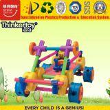 Das crianças plásticas dos blocos de apartamentos de Thinkertoy brinquedos 2017 creativos