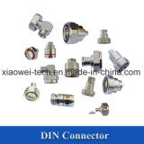 De mini Schakelaar van DIN 4.3-10 voor 3/8 Coaxiale Kabel ''