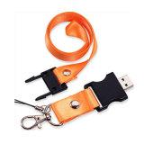 폴리에스테 물자 관례 USB 방아끈
