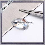 영구히 화려한 배 모양 단 하나 로즈 커트 Moissanite 다이아몬드