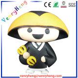 Borracha de PVC personalizado Chaveiro chaveiro em PVC maleável para presentes