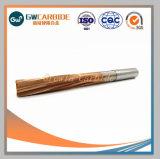 Hartmetall-einzelne Flöte-Bohrwerkzeug-gerader Halter