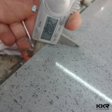 600x600x15mm Beige carreaux de marbre artificiel de quartz