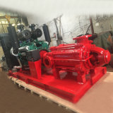 Bomba de agua partida de la lucha contra el fuego del motor diesel de la cubierta de la alta calidad