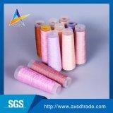 Hilado hecho girar de Texitle del hilo de coser del hilo para obras de punto de los hilados de polyester