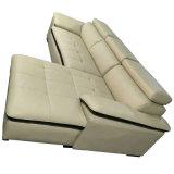 Le meilleur sofa de cuir d'entrée de meubles d'hôtel de qualité de vente chaude (A80)