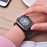 Para Apple assistir a banda de couro, Correia de substituição para bandas Iwatch Series 1/2/3