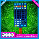Commutateur fait sur commande de contact de panneau de la Chine de membrane de clavier numérique de contrôle professionnel de jouet