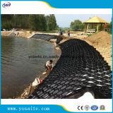 HDPE di plastica saldato controllo Geocells di erosione del pendio