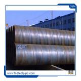 Spiraalvormige Pijpen van het Vloeistaal van de Buis van de Boiler van de Lage Druk van de Buis Q235B van de grote Diameter de Spiraalvormige