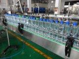 Ligne remplissante et recouvrante de l'eau minérale de bouteille automatique d'animal familier