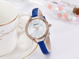 Nieuwe Dame Alloy Case Quartz Watch met de Beweging van Japan Dame Watch