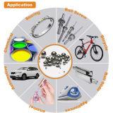 Sfera del acciaio al carbonio di difetto zero G1000 6.35mm per il cuscinetto della bicicletta