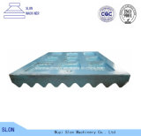 Высокая дробилка челюсти Minyu Ms-2416 марганца разделяет плиту челюсти