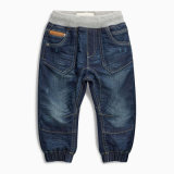 Маленькие джинсыы детей малышей джинсыов хлопка девушок ребёнков, тощие джинсыы, тяга на джинсыах