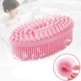Sin BPA Cepillo de lavado baño de silicona para productos de baño
