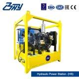 """6 """" - 12 """"를 위한 Od 거치된 휴대용 유압 디젤 쪼개지는 프레임 또는 관 절단 그리고 경사지는 기계 (168.3mm-323.9mm)"""