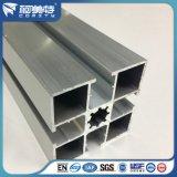 Profilo di alluminio industriale anodizzato naturale di colore d'argento della fabbrica per il basamento di funzionamento
