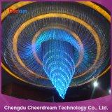 Iluminación del centelleo de PMMA 0.75m m de fibra óptica para la lámpara