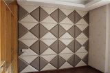 Parete fonoassorbente ad alta densità Panel-3 del comitato acustico della fibra di poliestere