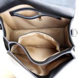 Saco de ombro de mulheres profissionais da bolsa do couro genuíno do estilo de Elegent