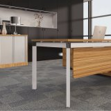 Bancada modular do escritório dos assentos do projeto moderno 4 com cores diferentes