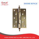 Vlakke de Hardware van de deur of de Scharnieren van het Staal van het Kogellager van de Kroon (4.0*3.0*2.5mm)