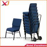 강당을%s 쌓을수 있는 강철 교회 의자 또는 사무실 또는 회의 또는 학교 또는 회의