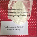 Suspensão líquida esteróide Injectable semiacabada 50mg/Ml Winstrol 50 10418-03-8