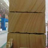 Популярные Китая желтого песчаника древесины для монтажа на стену оболочка/асфальтирование камня