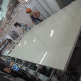 lastra bianca della pietra del quarzo di 3cm Calacata per la parte superiore della cucina