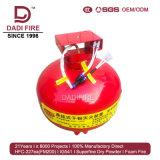 Populaires de la vente d'extincteur à poudre sèche pendaison 3-8 kg système de suppression des incendies
