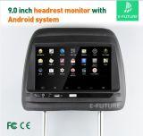 """Écran tactile 9"""" Android Voiture Lecteur appui-tête de dossier de siège avec le WiFi"""