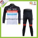 Bicicleta popular de ciclo Jersey de la impresión de la sublimación del desgaste de los hombres respirables de encargo
