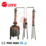 Acciaio inossidabile/strumentazioni di distillazione casa di rame/distillatore domestico