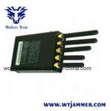 5本のアンテナGPS携帯電話のWiFiの携帯用シグナルの妨害機