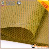 Amarelo dourado do material de embalagem no. do presente da flor 38 não tecidos