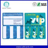 Tarjeta combinada de moda del PVC con UPS 1 o 2